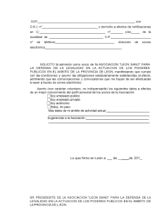 modelo solicitud socio Leonsano