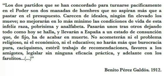140917 Los dos partidos. BenitoPerez Galdós