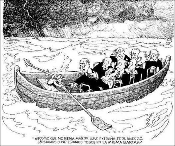 estamos todos en la misma barca