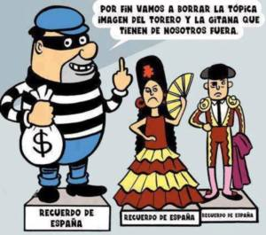 ladron recuerdo España