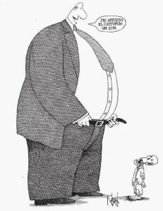 austeridad del rico
