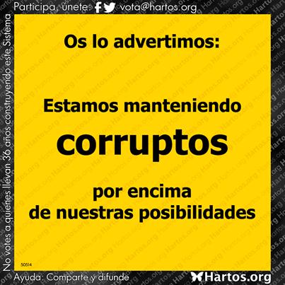 manteniendo corruptos