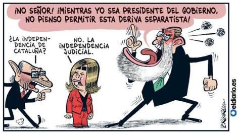 dependencia judicial