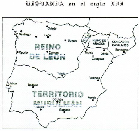 hispania en siglo XII