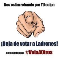 vota a otros