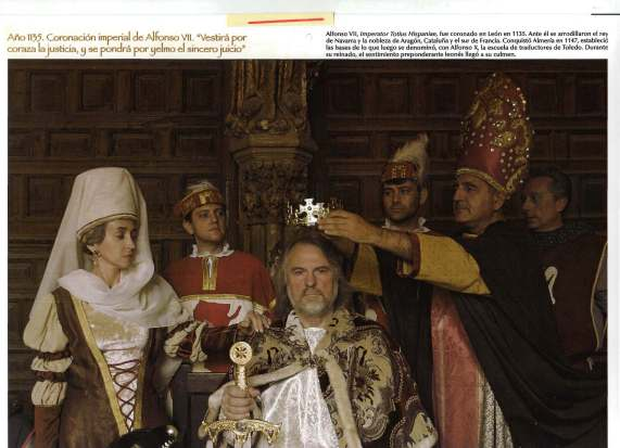 AlfonsoVI ^imperator totius Hispaniae^.León 1135