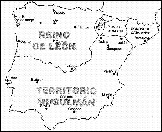 Hispania en el siglo XII