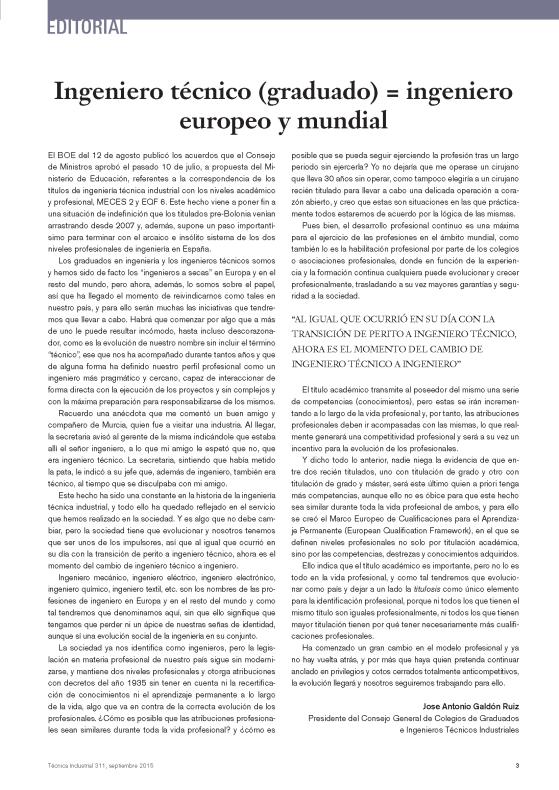 151006 Artículo Jose Antonio Galdón - Ing Téc