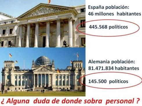 sobran políticos