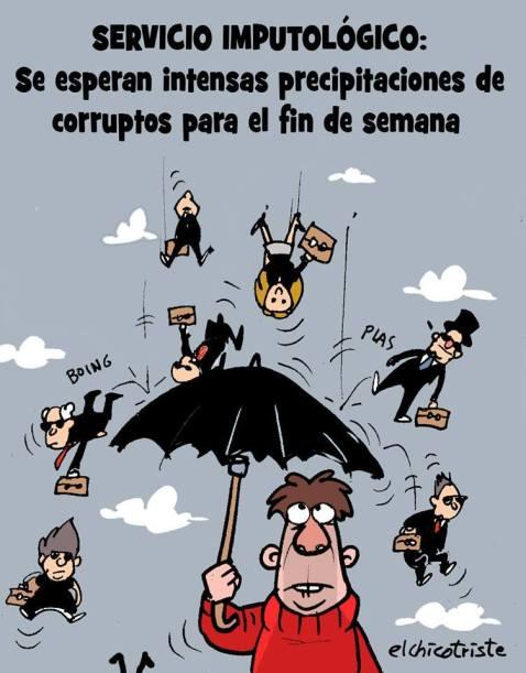 corrupción lluvia de imputados