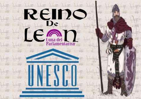 REINO de León.Cuna del parlamntarismo. UNESCO