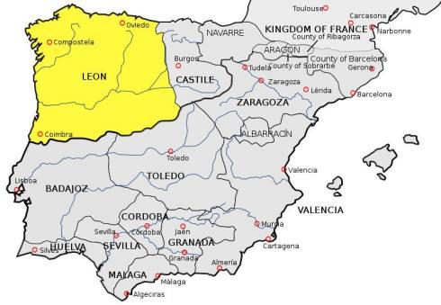 Reino León PRIMERAS CORTES MUNDIALES  Alfonso IX 1188