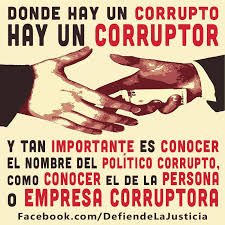 corrupto y corruptor