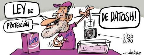 Rajoy-Ley protección datos