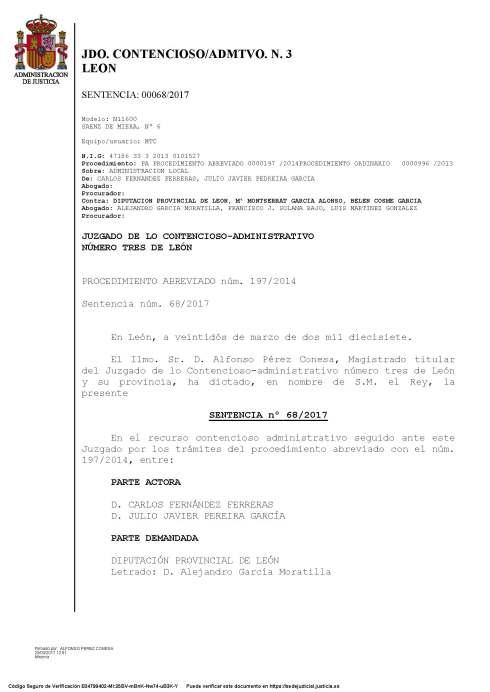 170322- Sentencia 22-3-2017 estimatoria con condena en costas a la Diputación_Página_1