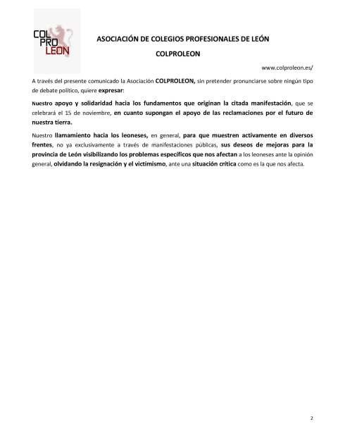 181109 coproleon Comunicado sobre la manifestación de 15 novie_Página_2