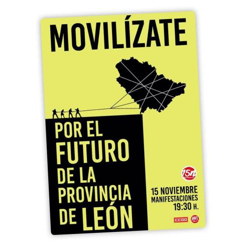 181115 manifestac futuro León