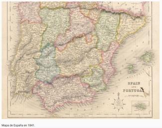191229 mapa de España 1841